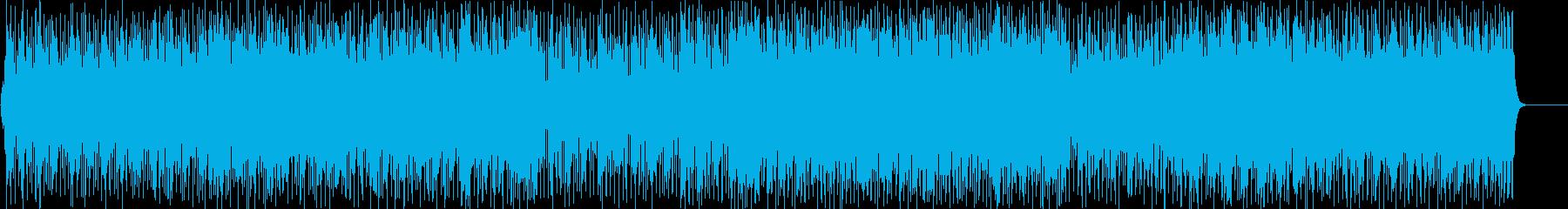 青空 昼さがり 休日 さわやか 軽快の再生済みの波形