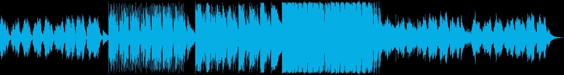 打楽器の絶妙なピアノオスチナートの再生済みの波形
