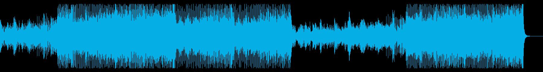 ジャズっぽいダンスミュージックですの再生済みの波形