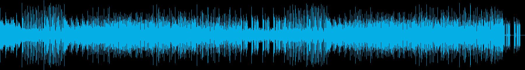 シンセとギターのお洒落EDMの再生済みの波形