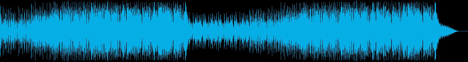 爽やかで躍動感のあるトロピカルハウスの再生済みの波形