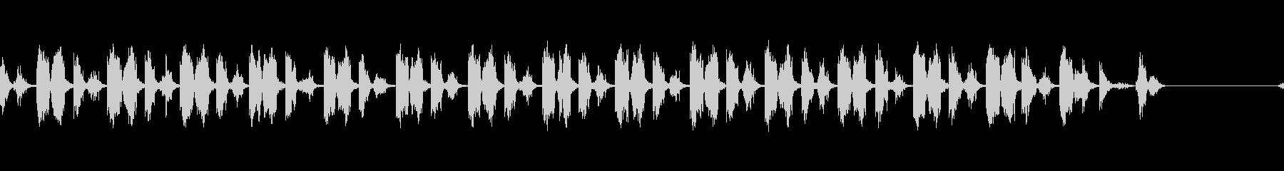 シャープネスナイフリズムの未再生の波形