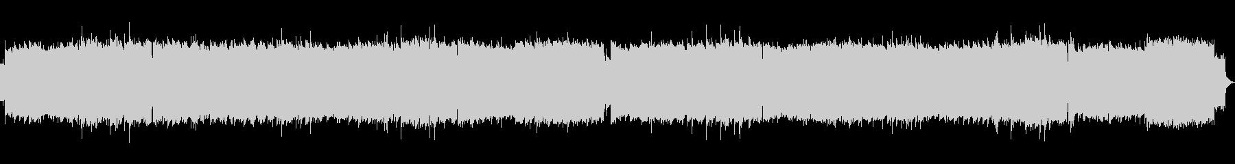 ファミコン風 8bit タイトル画面の未再生の波形