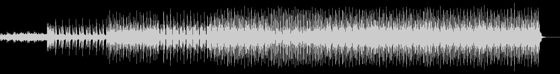 80年代サウンド多用の優しいポップの未再生の波形
