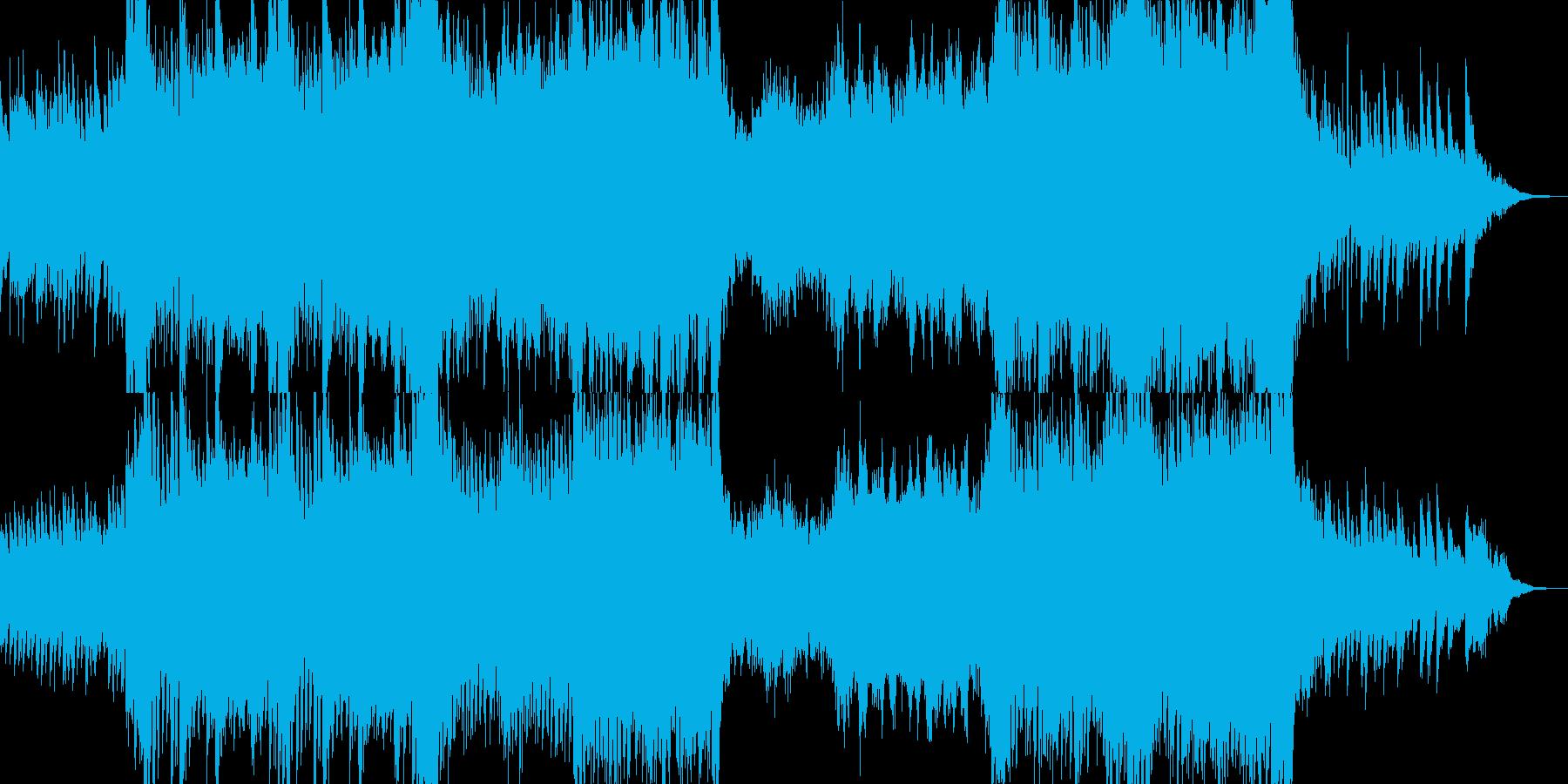 今どきBGMドラマティック_オケ結婚式1の再生済みの波形