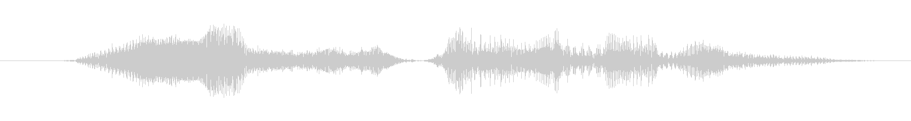 今すぐダウンロードォォ(特徴強め)の未再生の波形