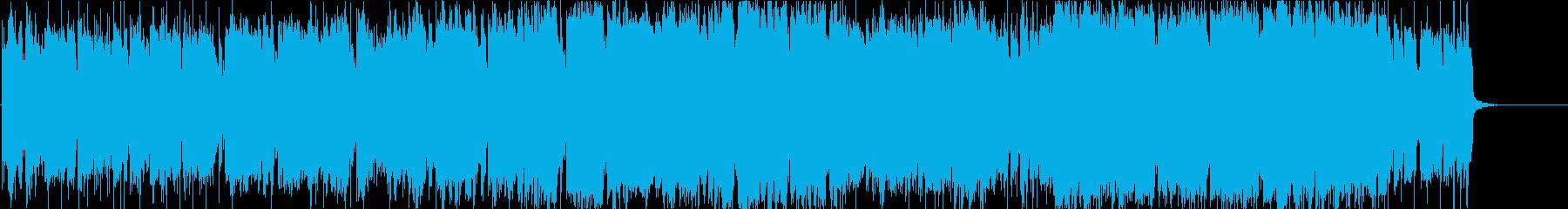 前向きでメロディアスなロックの再生済みの波形