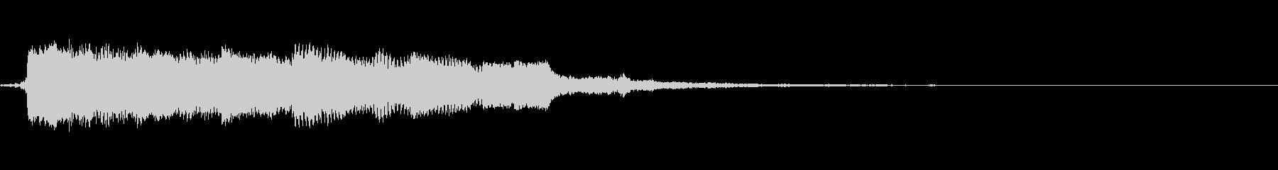 ロックブルースバンパー9の未再生の波形
