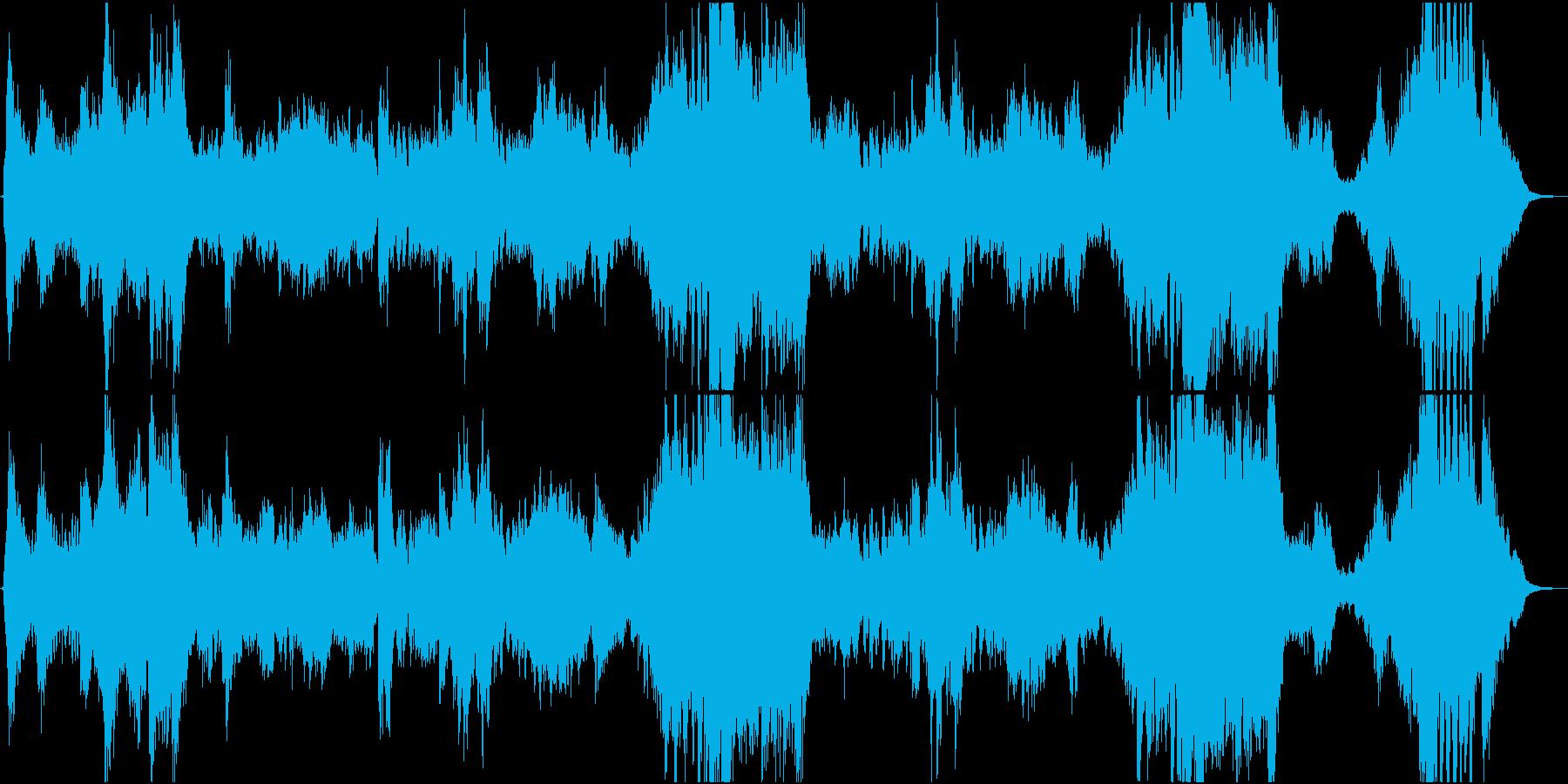 疾走感のあるオーケストラ「浮島に乗って」の再生済みの波形
