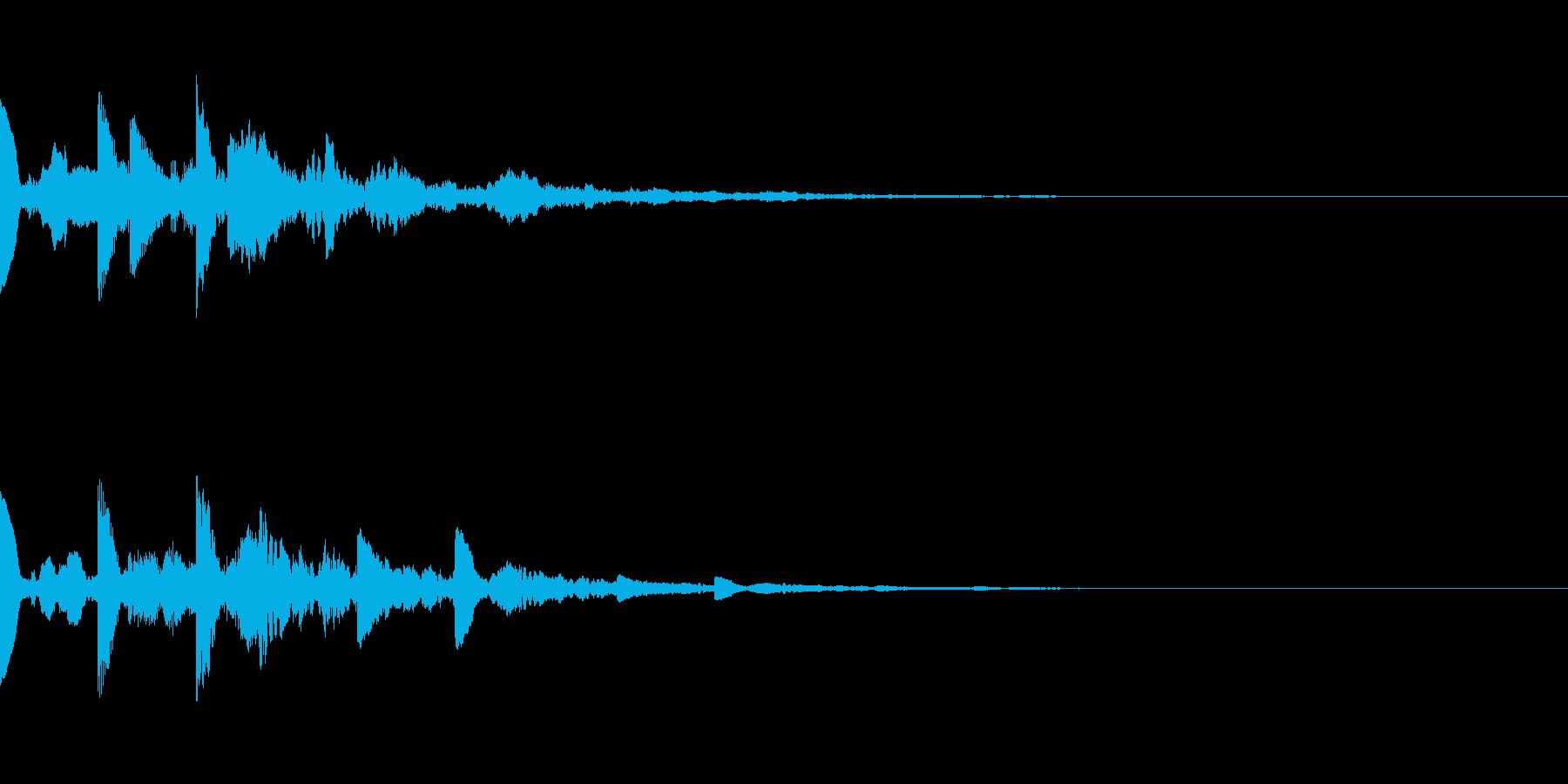 ニュース・お知らせ2の再生済みの波形