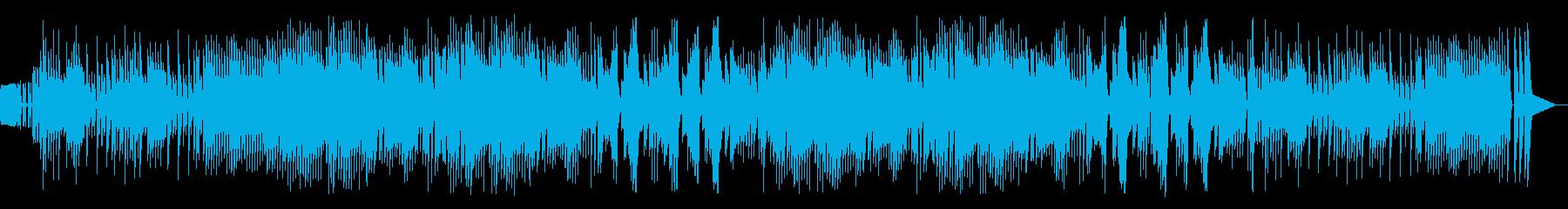 ファミコン風ピコピコバトル曲の再生済みの波形