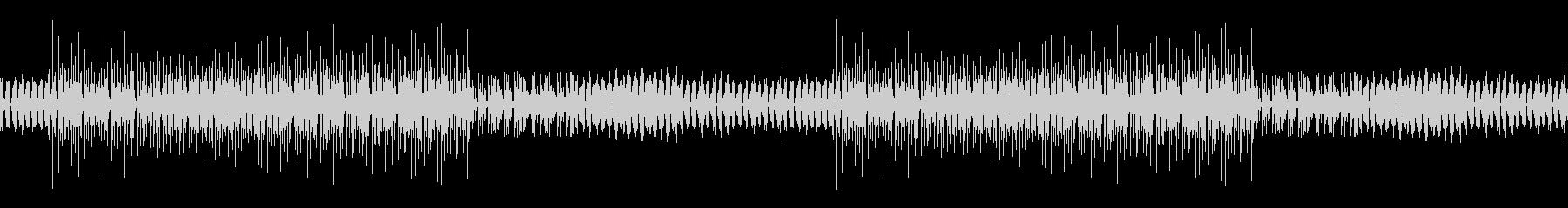 謎めいた雰囲気のレゲエBGM※ループ仕様の未再生の波形