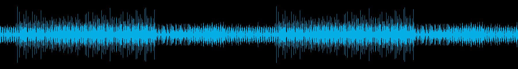 謎めいた雰囲気のレゲエBGM※ループ仕様の再生済みの波形