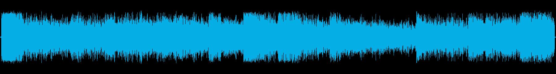 緊迫感のあるオーケストラ編成の暗いダン…の再生済みの波形
