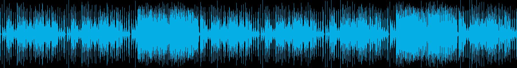 シャンソン風のループです の再生済みの波形
