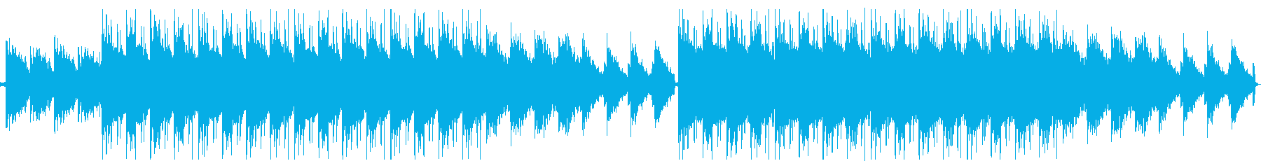 lofiでChillなBGMの再生済みの波形