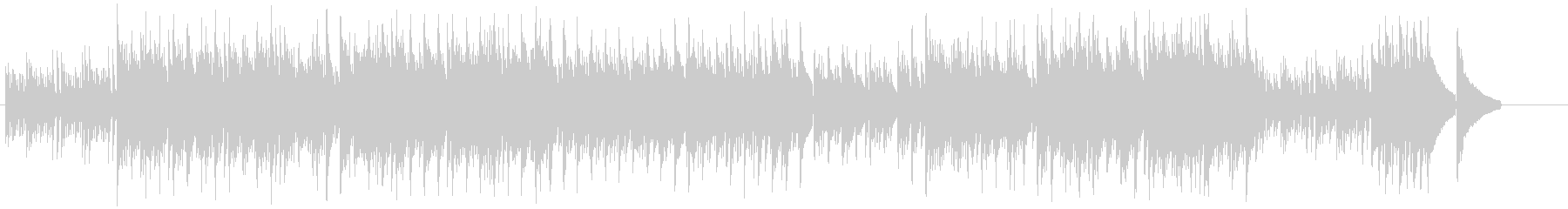 アコースティック・イメージサウンドの未再生の波形