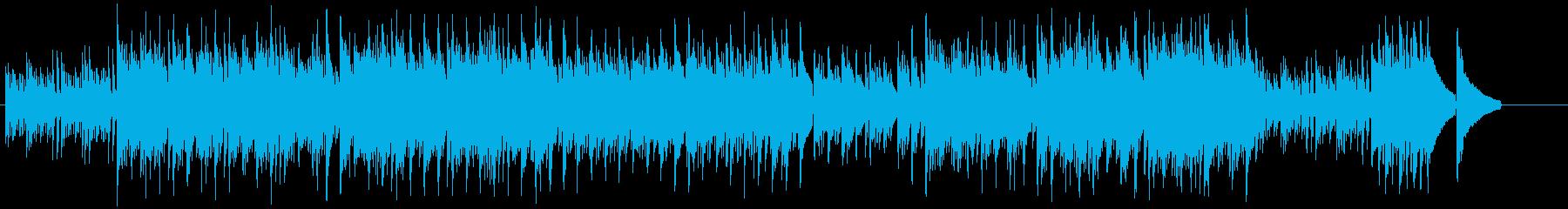 アコースティック・イメージサウンドの再生済みの波形