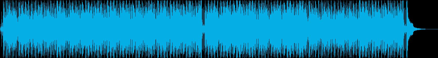 滑らか ジャズ フュージョン ポジ...の再生済みの波形