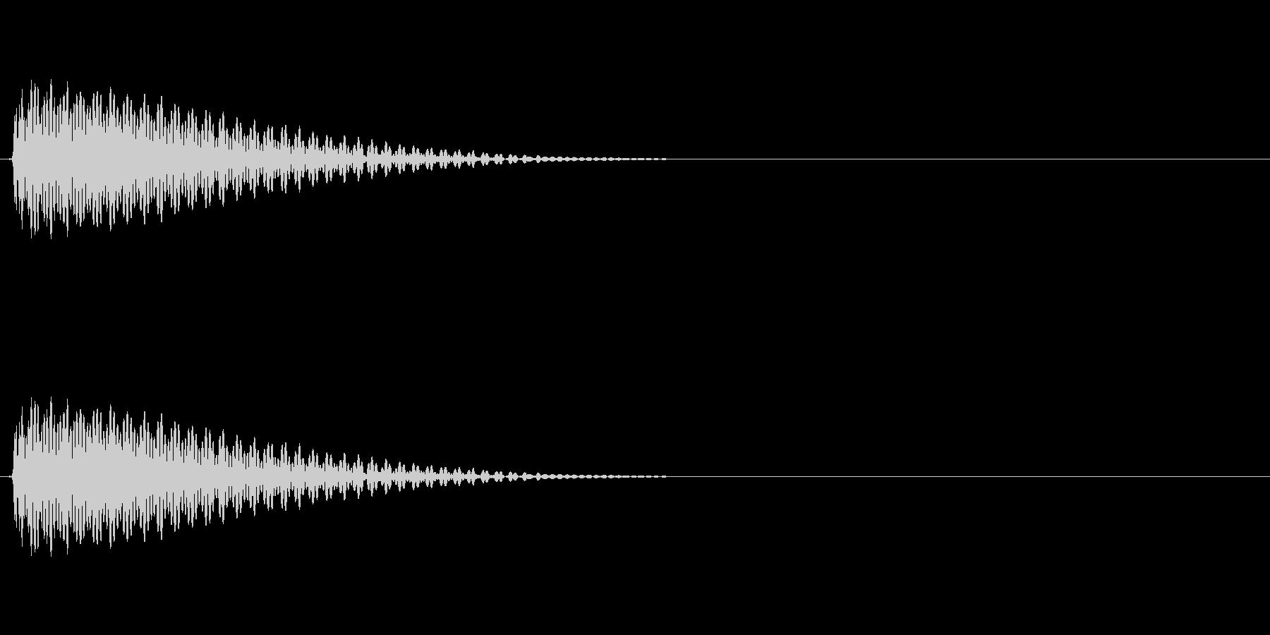 LoFiドラムキット06-タムの未再生の波形