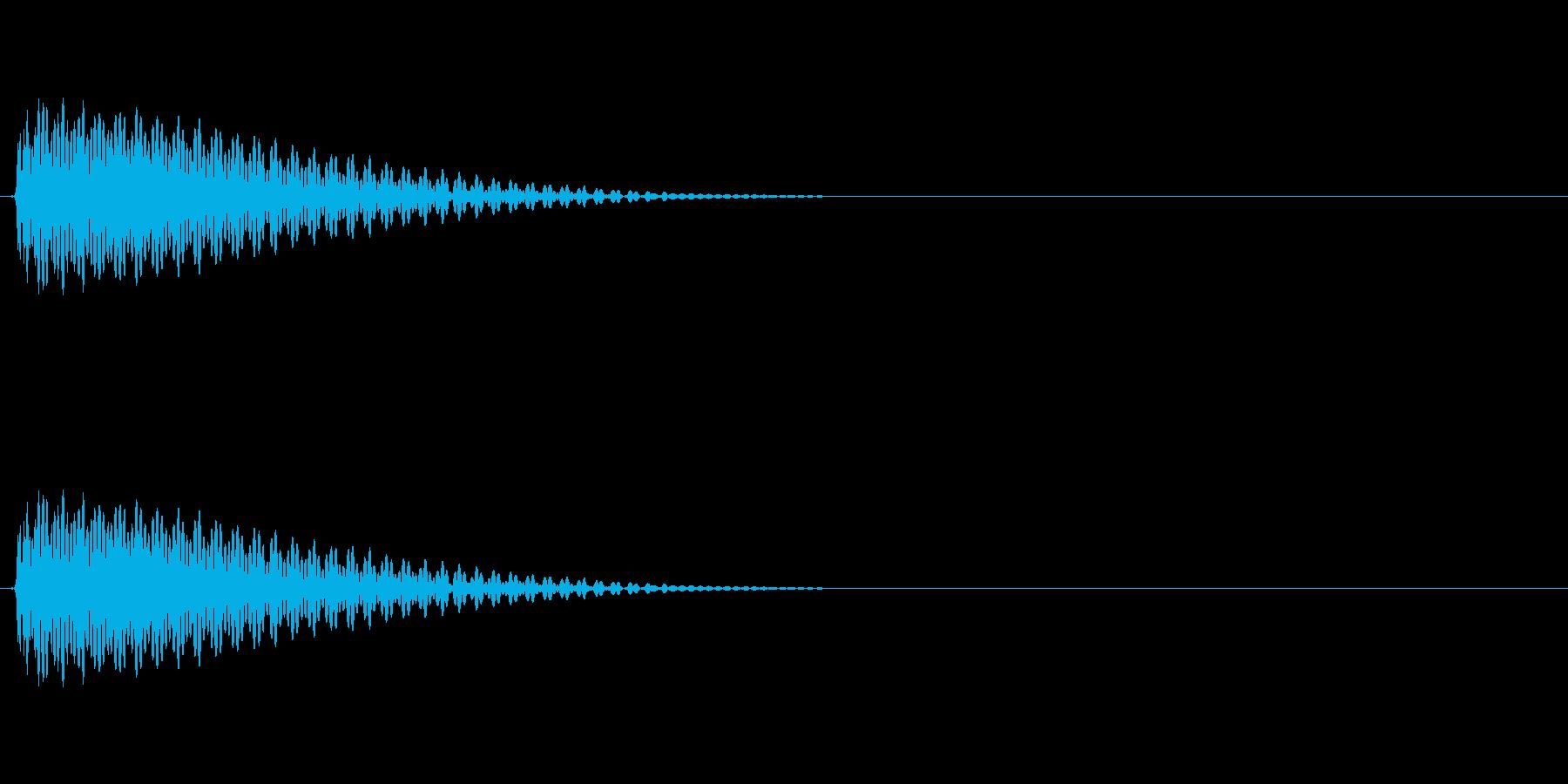 LoFiドラムキット06-タムの再生済みの波形