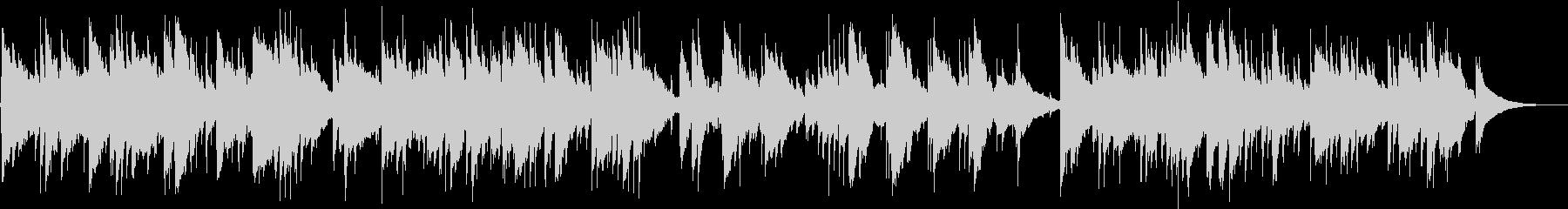 アコギ生演奏の優しく穏やかな曲の未再生の波形