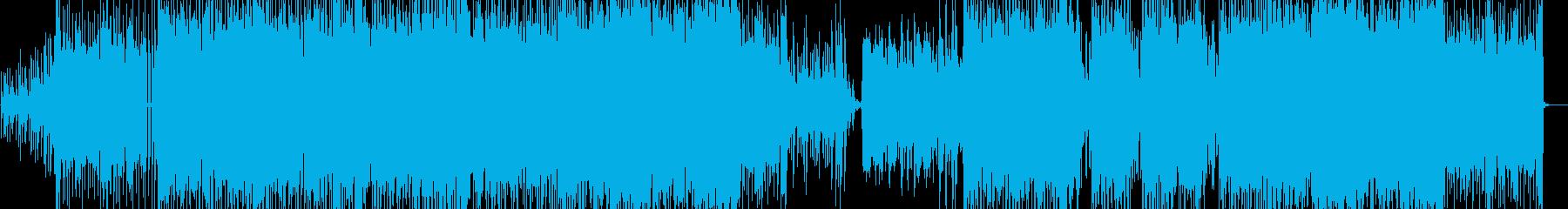 煌びやかで不思議なエレクトロニカ・ポップの再生済みの波形