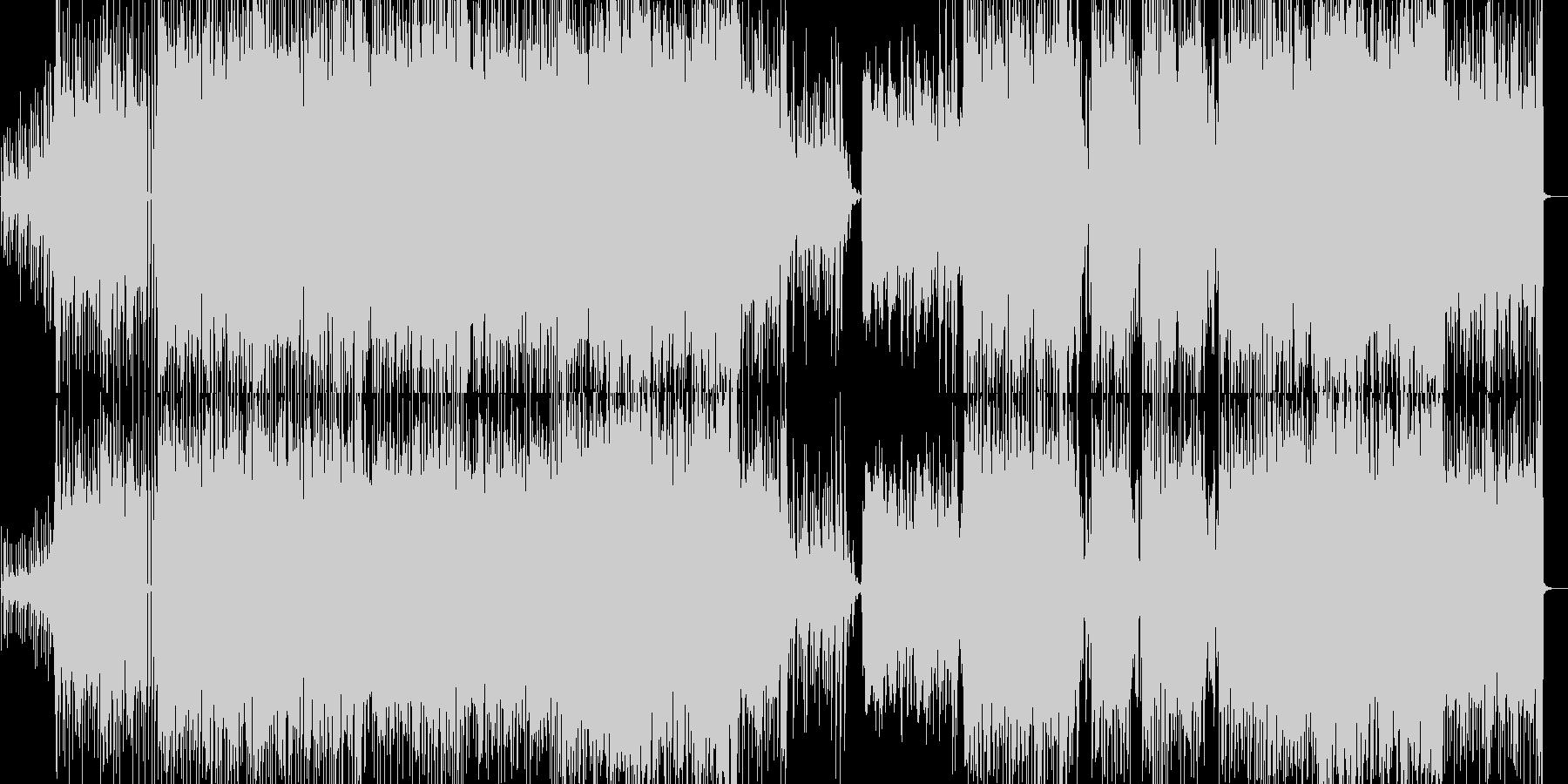 煌びやかで不思議なエレクトロニカ・ポップの未再生の波形