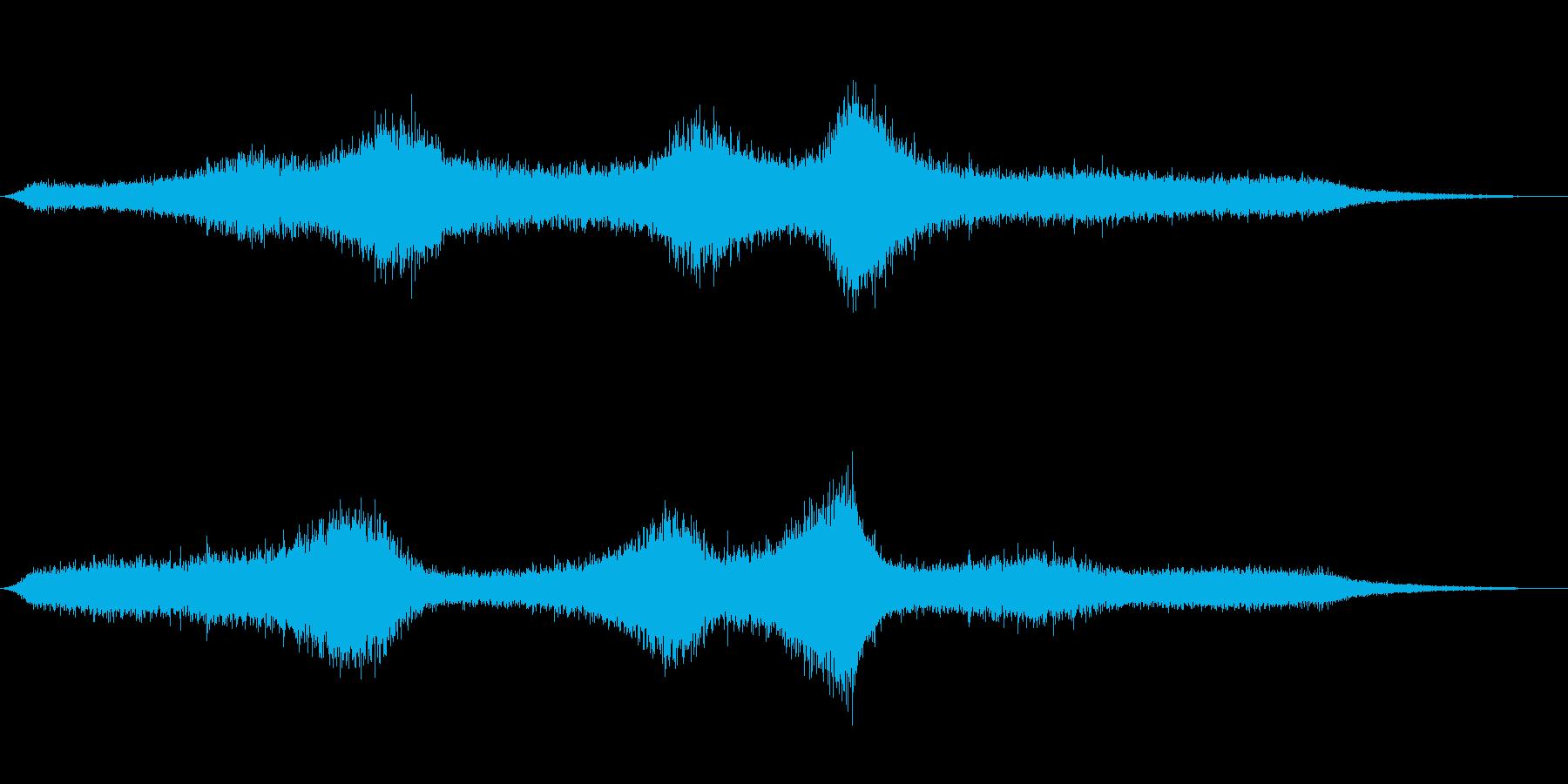 【生録音】 早朝の街 交通 環境音 20の再生済みの波形