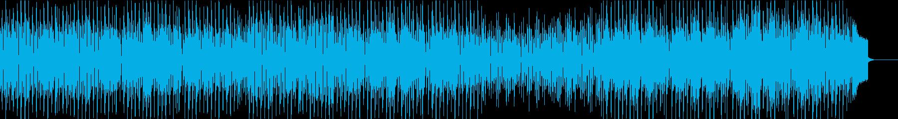 楽しくハッピーな口笛とウクレレの再生済みの波形