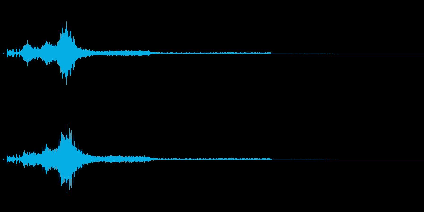 車 ドライブアウェイRev 01の再生済みの波形