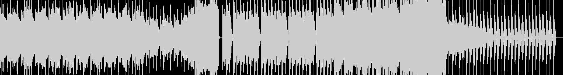 【EDM】力強く、アグレッシブなナンバーの未再生の波形