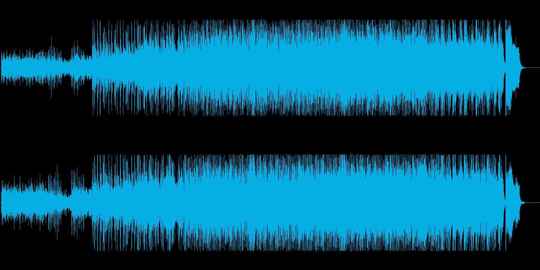 未来風~前向きなアップテンポ◎ピアノ旋律の再生済みの波形