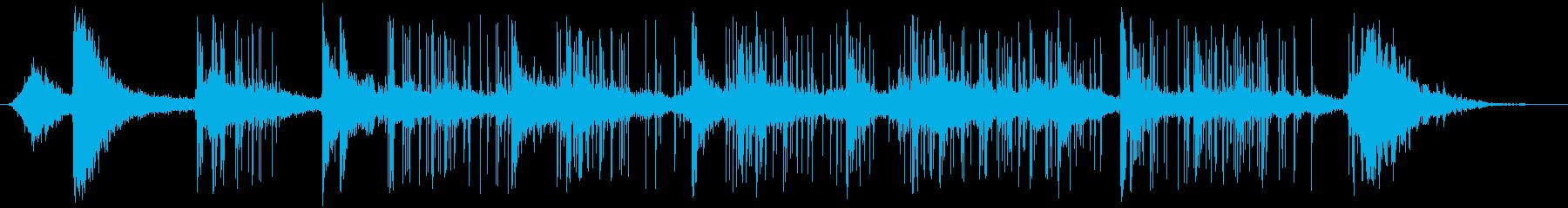 花火-ロケット-の再生済みの波形