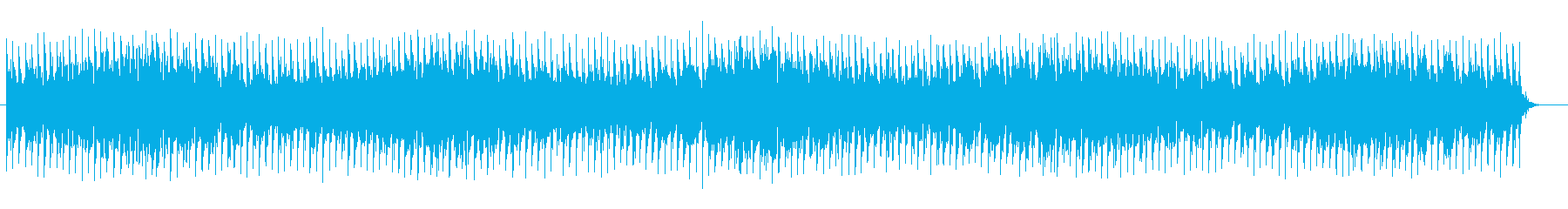 事件に巻き込まれそうなサスペンス音楽の再生済みの波形