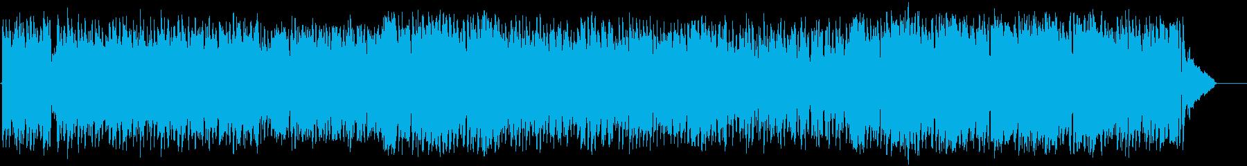 懐しいビッグバンドジャズ(フルサイズ)の再生済みの波形