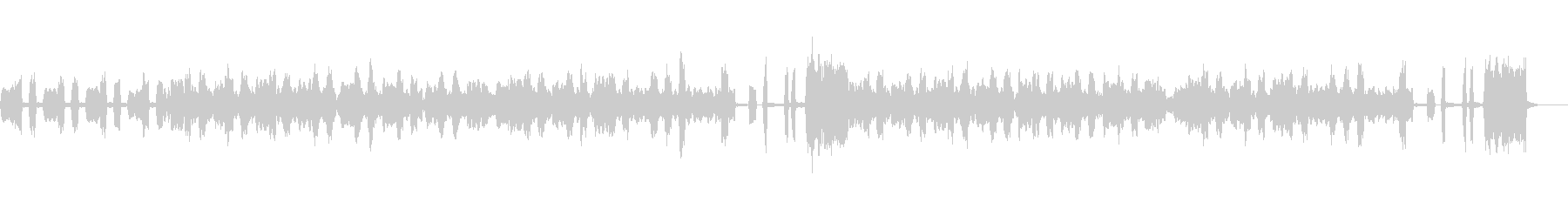 アコーディオンのワルツの未再生の波形