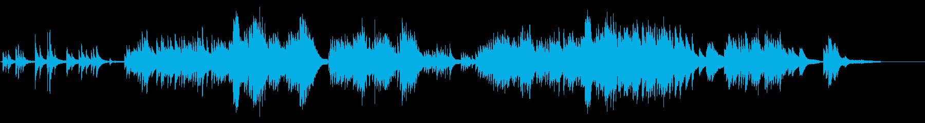 生ピアノで奏でる美しい日本の唱歌:朧月夜の再生済みの波形