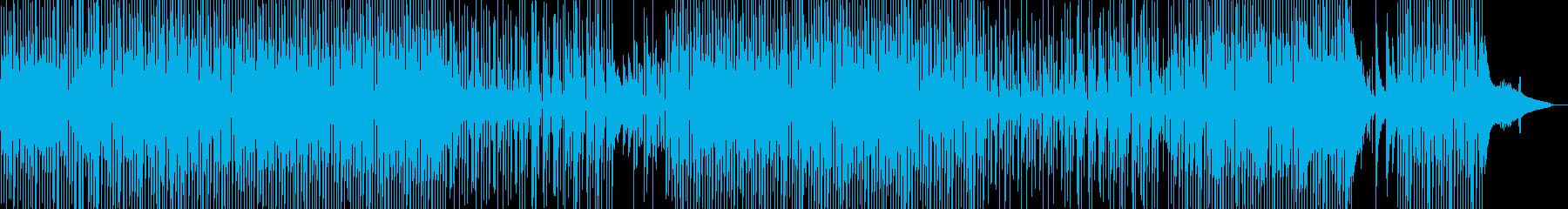ウクレレ・軽快・ほのぼの作品に 長尺の再生済みの波形