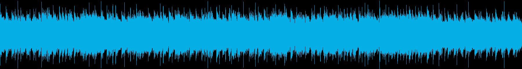 【ループBGM】きゃわわポップロックの再生済みの波形