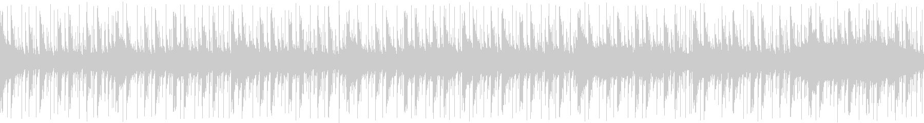 アップテンポな生演奏SAXソロ ループの未再生の波形