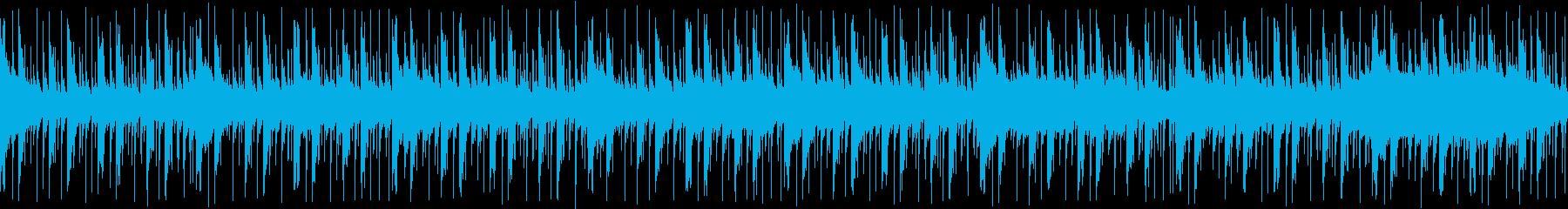 アップテンポな生演奏SAXソロ ループの再生済みの波形