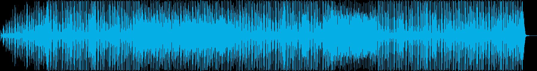わくわく・コミカルなポップBGMの再生済みの波形