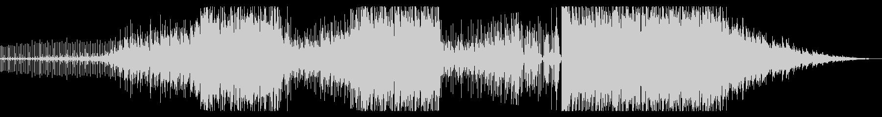 トロピカルで感傷的な癒しのBGM音楽の未再生の波形
