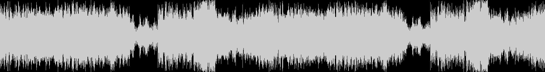 ハロウィンBGM:華麗なるワルツの未再生の波形