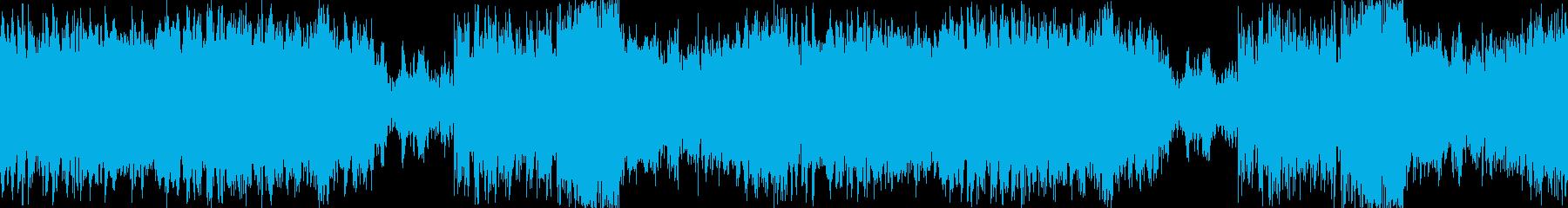 ハロウィンBGM:華麗なるワルツの再生済みの波形
