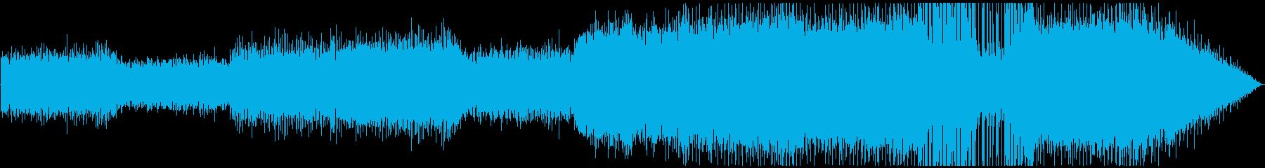 ハラハラ・ドキドキの緊張感!の再生済みの波形
