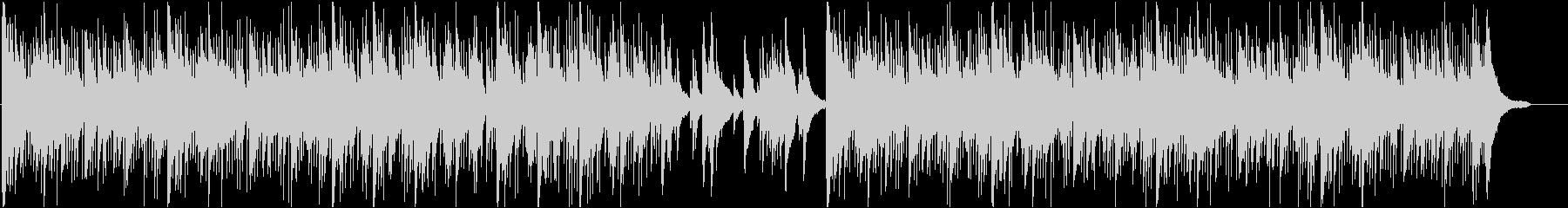 企業イメージPVなどにピアノ曲の未再生の波形