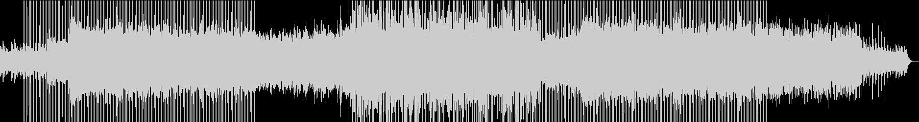 夏の始まりをイメージしたBGMの未再生の波形