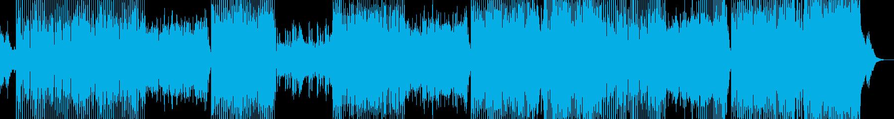 中国の揚琴という楽器を使ったEDMの再生済みの波形